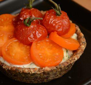 Gluten Free Vegan Raw Tart