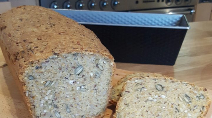 Freekeh Three Seed Bread