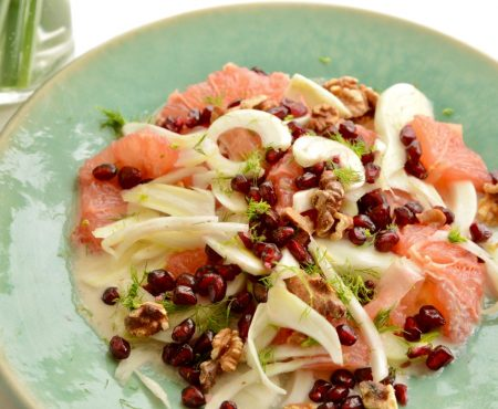 Fennel & Ruby Grapefruit Salad