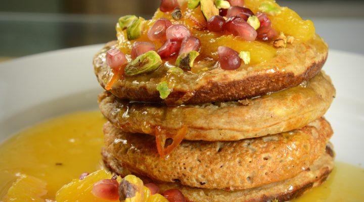 Buckwheat-Banana Pancakes
