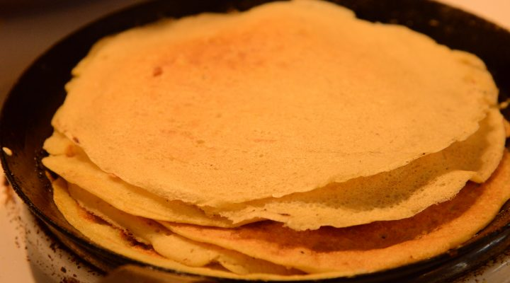 How to make plant-based crêpes