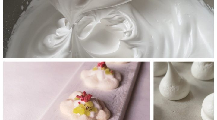 How to make aquafaba meringue